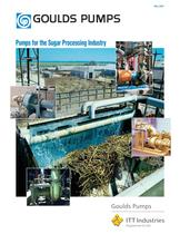 Pumps for the Sugar Processing Industry