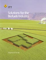 Solutions for the Biofuels Industry