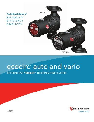 A 139A ecocirc auto and vario - Bell & Gossett Domestic Pump