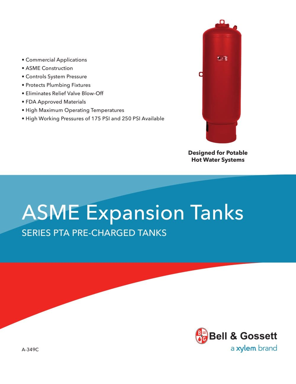 A 349C - Bell & Gossett Domestic Pump - PDF Catalogue | Technical ...