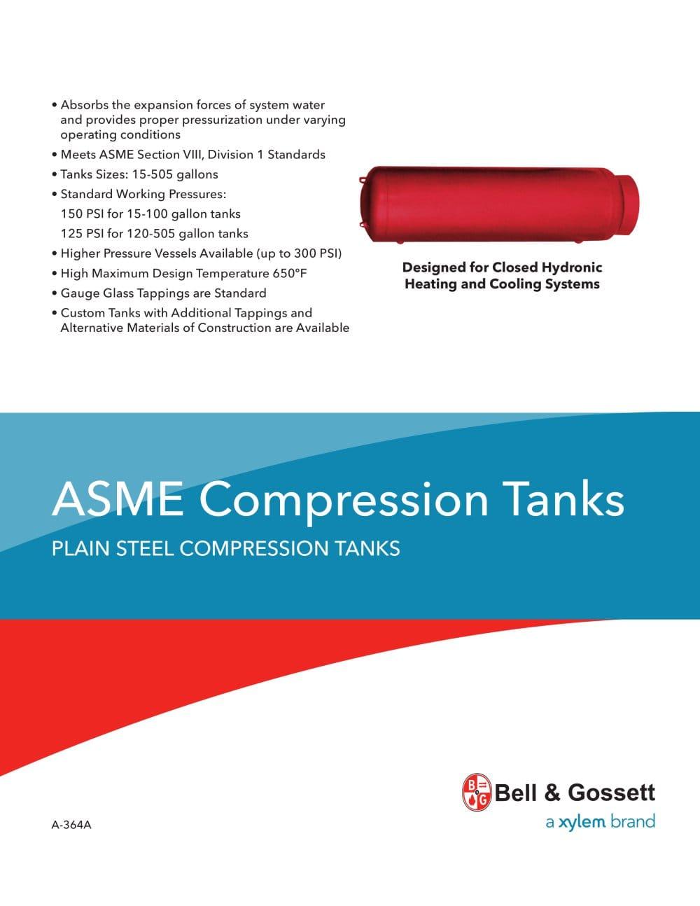ASME Compression Tanks - Bell & Gossett Domestic Pump - PDF ...