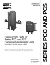 Domestic Series PCC Pumpless Condensate Units (obsolete)