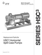 Replacement Parts for HSC³ Horizontal Split Case Pumps