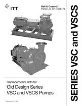 Replacement Parts for Old Design Series VSC and VSCS