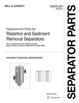 Replacement Parts for Rolairtrol and Sediment Removal Separators