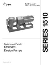 Series 1510 Standard Design Pumps
