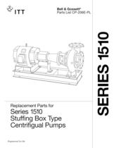 Series 1510 Stuffing Box Pumps