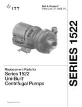Series 1522 Close Coupled Pumps