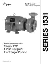Series 1531 Close Coupled Pumps