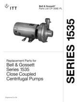 Series 1535 Close Coupled Pumps