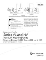 Series VL and HV Vacuum Heating Units