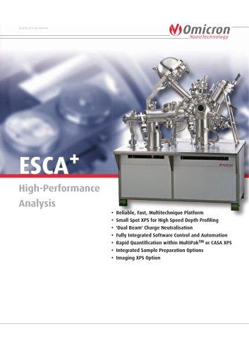 ESCA+ - Scienta Omicron - PDF Catalogs   Technical