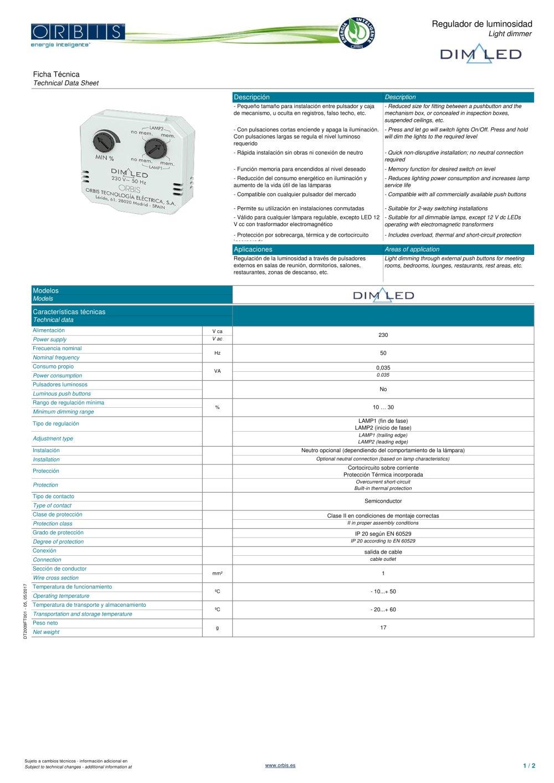 Orbis Timer Wiring Diagram Schematic Diagrams Gas Smoke Sensor Circuit Tradeoficcom Dim Led Tecnologa Elctrica Pdf Catalogue Technical Ge Switch 1