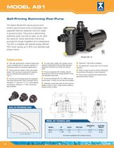 Self-Priming Swimming Pool Pump