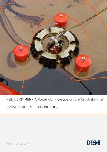 HELIX SKIMMER - A Powerful, innovative circular brush skimmer