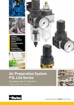 Airline Lightweight FRL - P3L Lite Series catalogue PDE2661TCUK