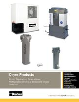 Dryer Products - Liquid Separators, Drain Valves, Refrigeration Dryers & Desiccant Dryers Catalog 0722