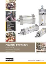 Pneumatic Cylinders - P1D-B Series Technical Catalogue - PDE2659TCUK