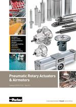 Pneumatic Rotary Actuators & Air motors - Platform Catalogue: PDE2613TCUK
