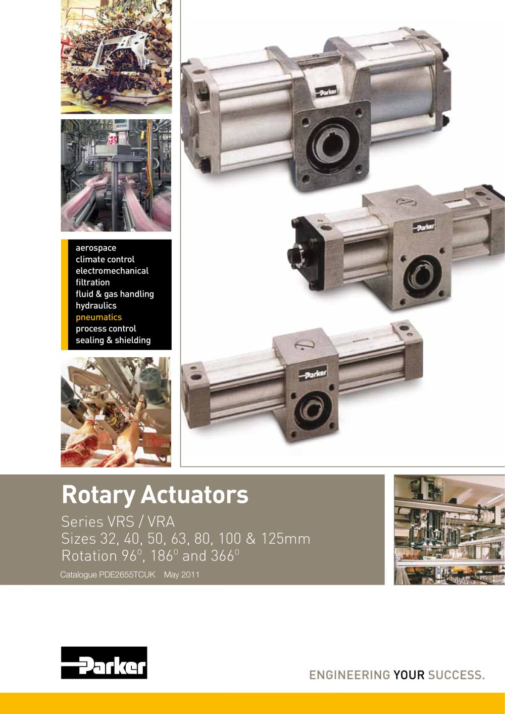 rotary actuators series vrs vra catalogue pde2655tcuk 290811_1b rotary actuators series vrs vra catalogue pde2655tcuk parker Parker Sensor Reed at mifinder.co