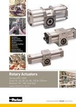 Rotary Actuators Series VRS / VRA - Catalogue PDE2655TCUK