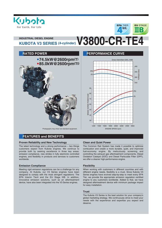kubota 3800 engine diagram reinvent your wiring diagram \u2022 3.1l engine diagram v3800 cr te4 kubota engine pdf catalogue technical rh pdf directindustry com gm 3800 motor diagram gm 3800 motor diagram
