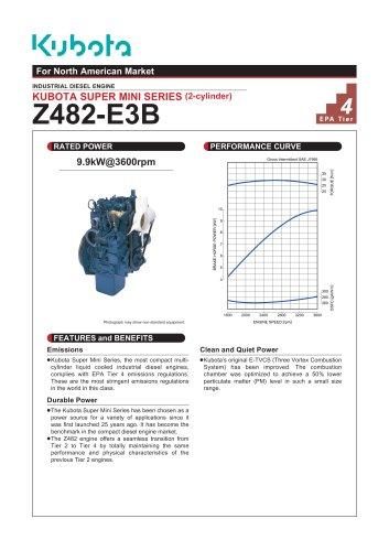 Z482-E2B - KUBOTA Engine - PDF Catalogs | Technical Documentation
