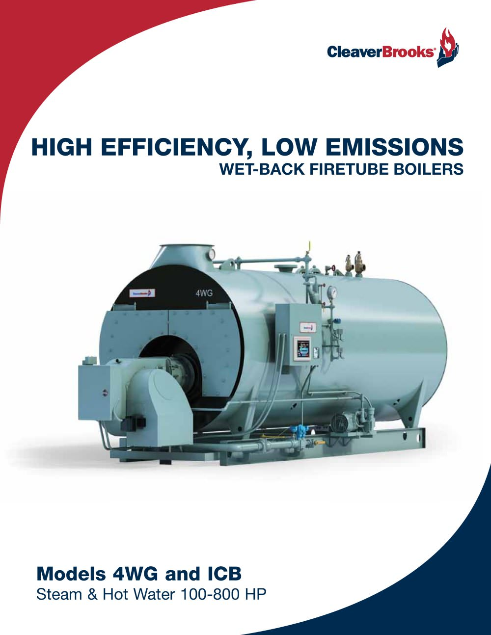HIGH EFFICIENCY, LOW EMISSIONS Wet-Back Firetube Boilers - Cleaver ...
