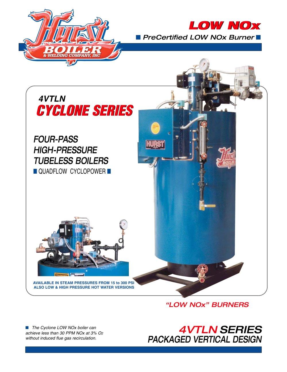 Low NOx Brochure - Hurst Boiler - PDF Catalogue | Technical ...