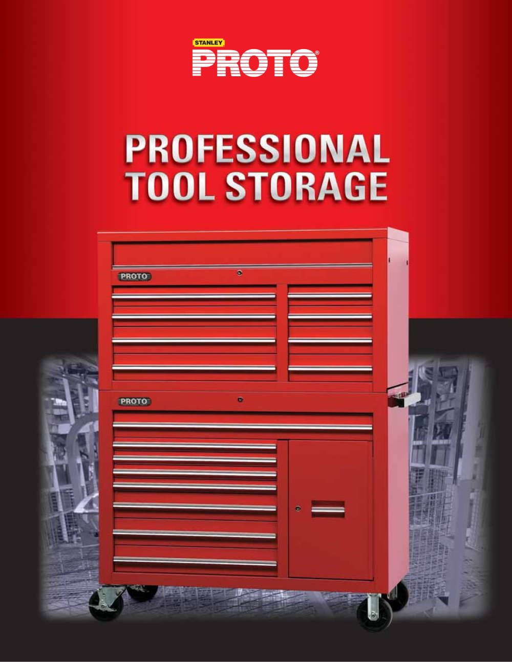 Proto® Professional Tool Storage - 1 / 16 Pages  sc 1 st  Catalogues Directindustry & Proto® Professional Tool Storage - PROTO - PDF Catalogue | Technical ...