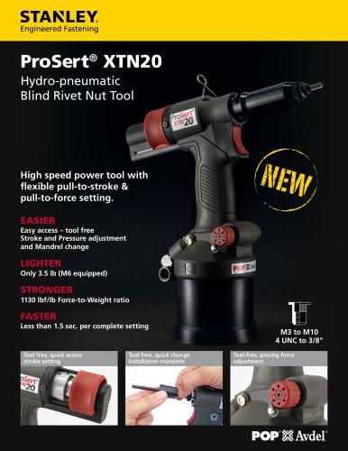 ProSert XTN20 - STANLEY Engineered Fastening - PDF Catalogs