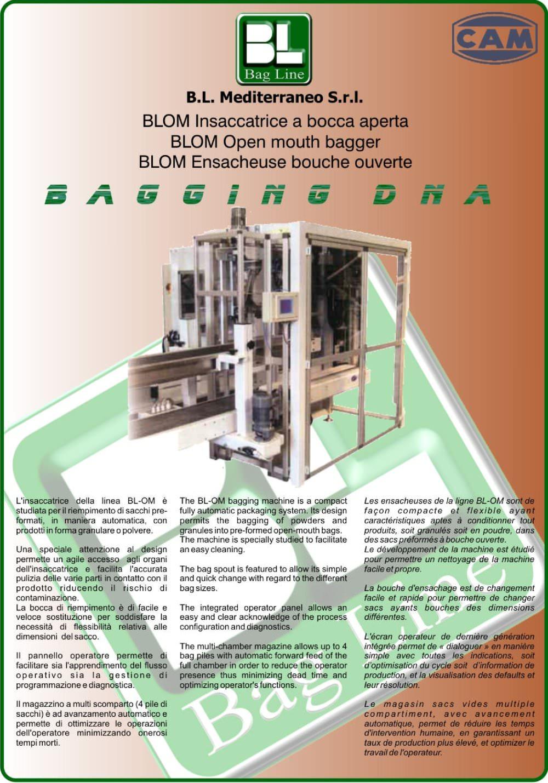 Automatic open mouth bagger - BLOM - CAM - PDF Catalogs   Technical ... a54915c6a22