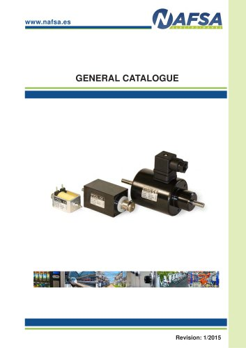 GENERAL CATALOGUE NAFSA
