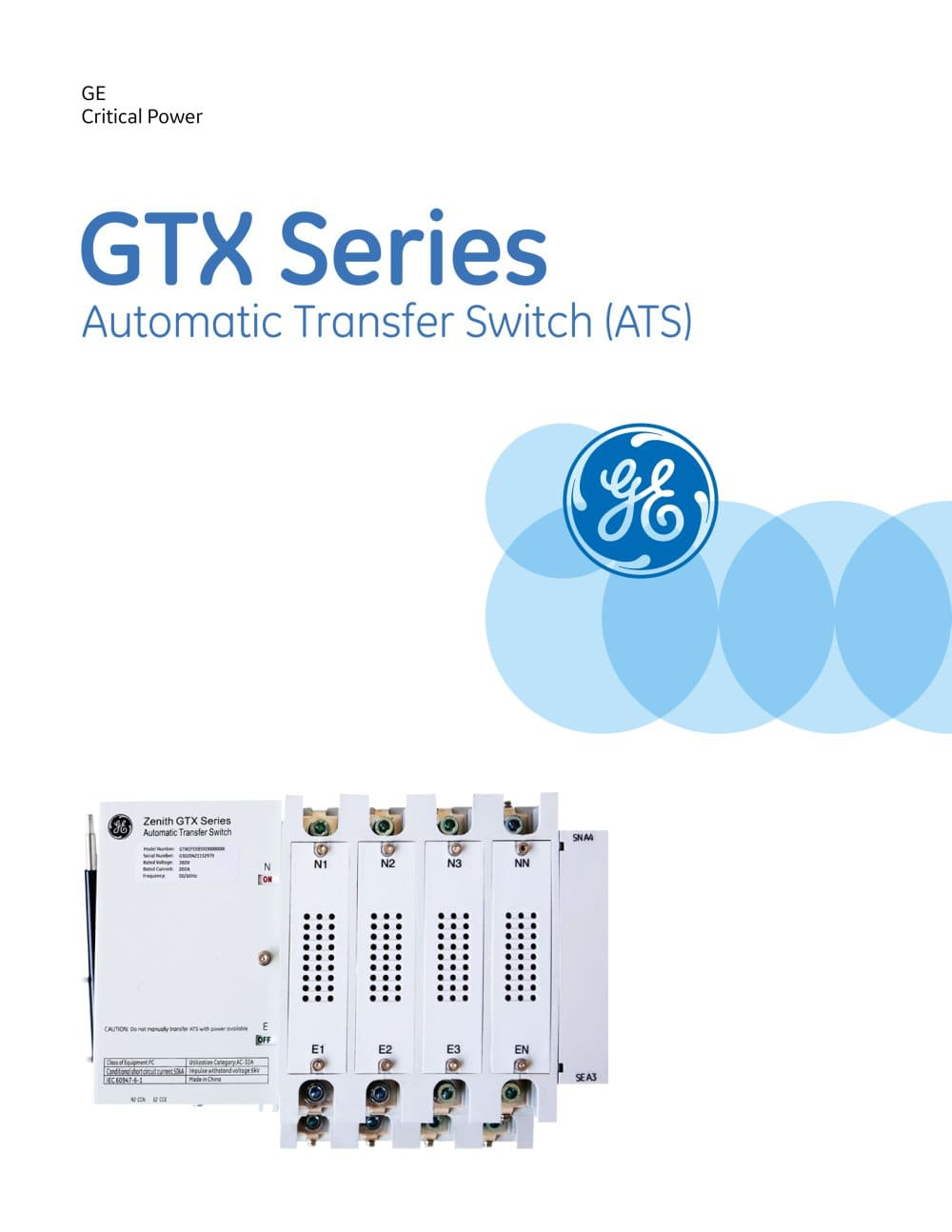 Zenith Ztg Transfer Switch Wiring Diagram Residential Ztx20mx60 Ge Automatic 200a Gtx Series Ats Generator