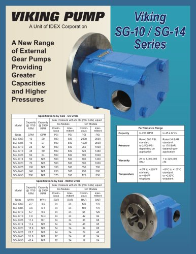 Viking pump - Product Flyers