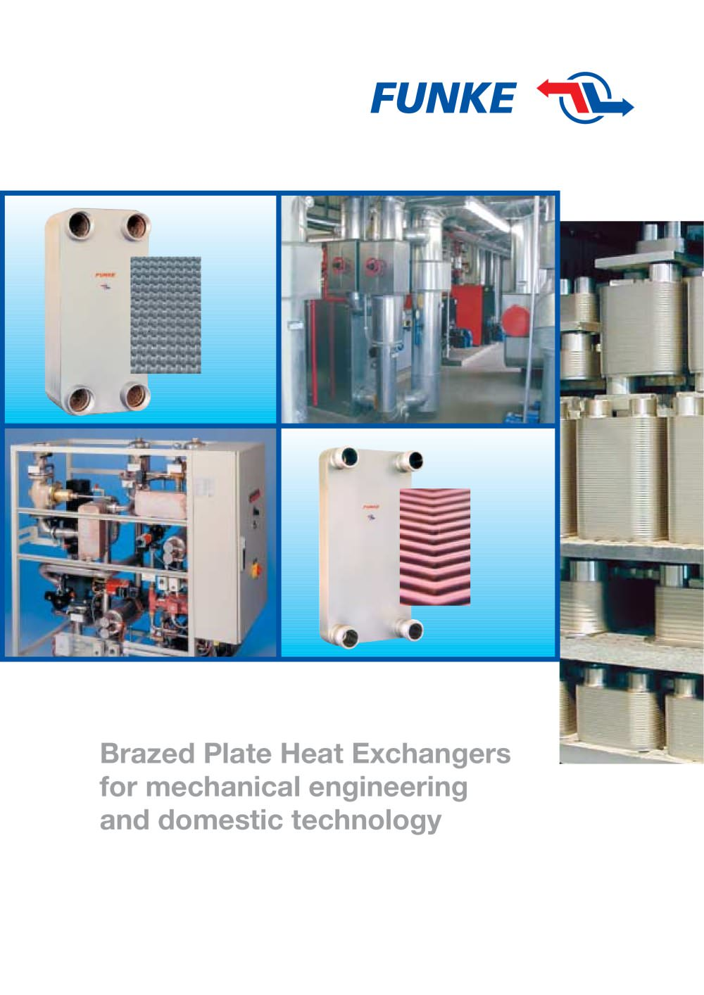 Brazed Plate Heat Exchangers - Funke - PDF Catalogue | Technical ...