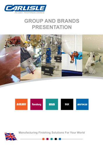 Carlisle Fluid Technologies Group Presentation
