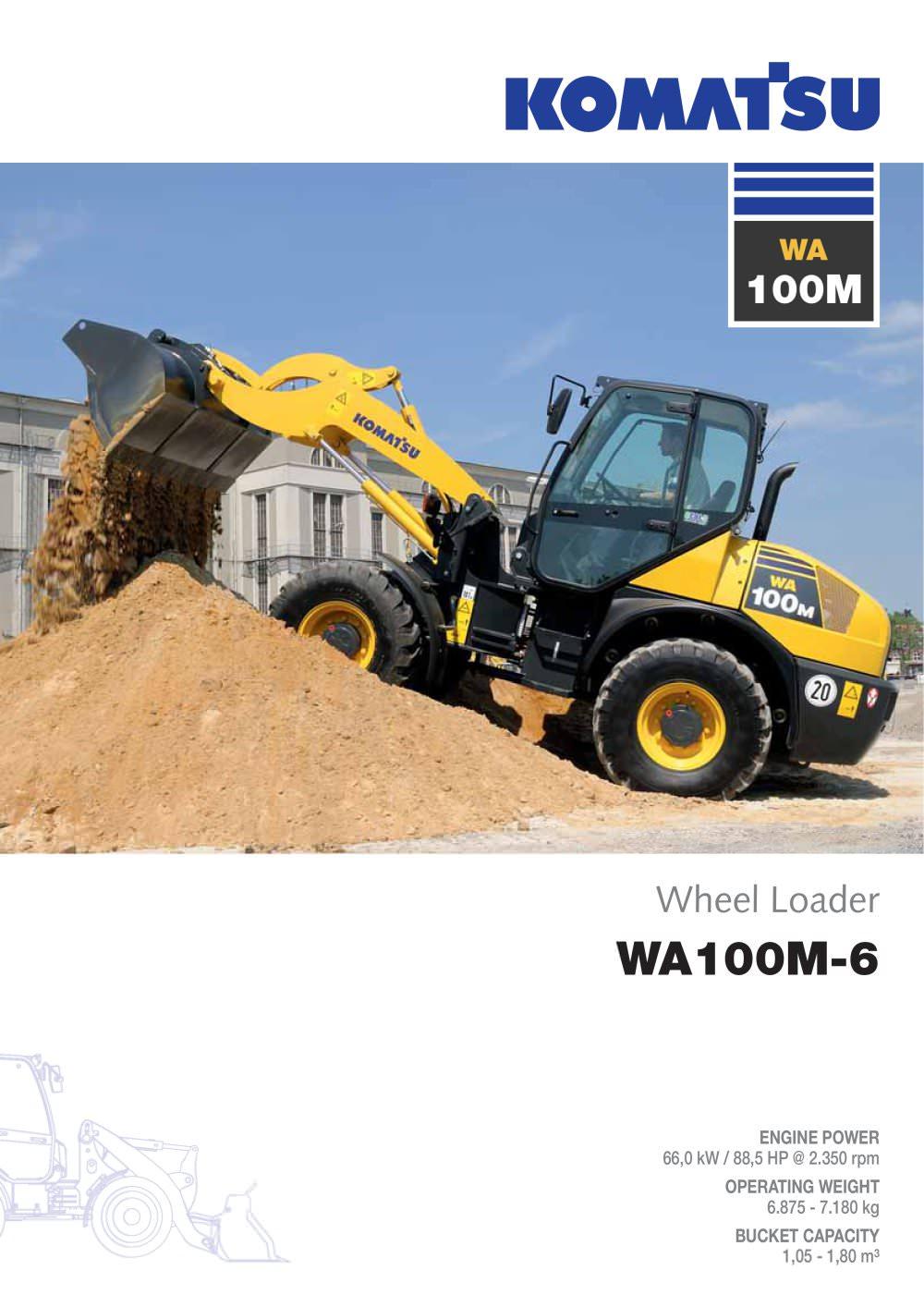 WA100M-6 - 1 / 12 Pages