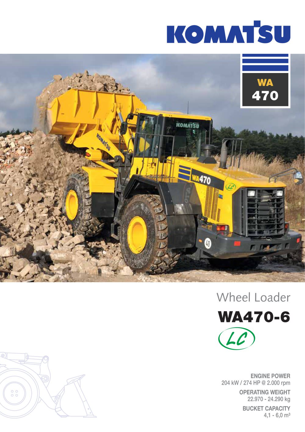 WA470-6 (LC) - 1 / 24 Pages