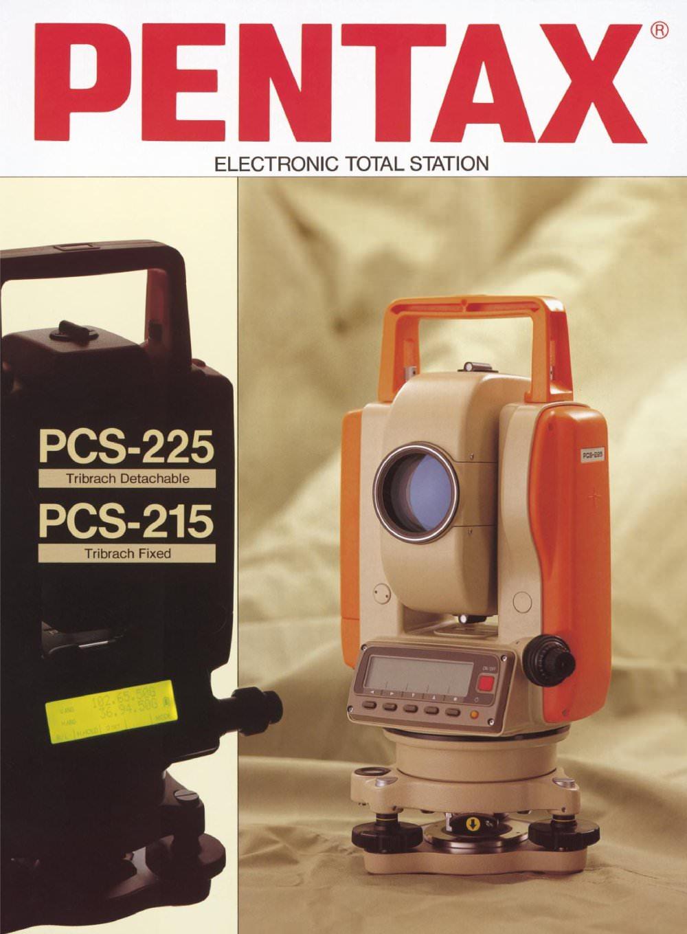 pcs 215 225 pentax precision pdf catalogue technical rh pdf directindustry com