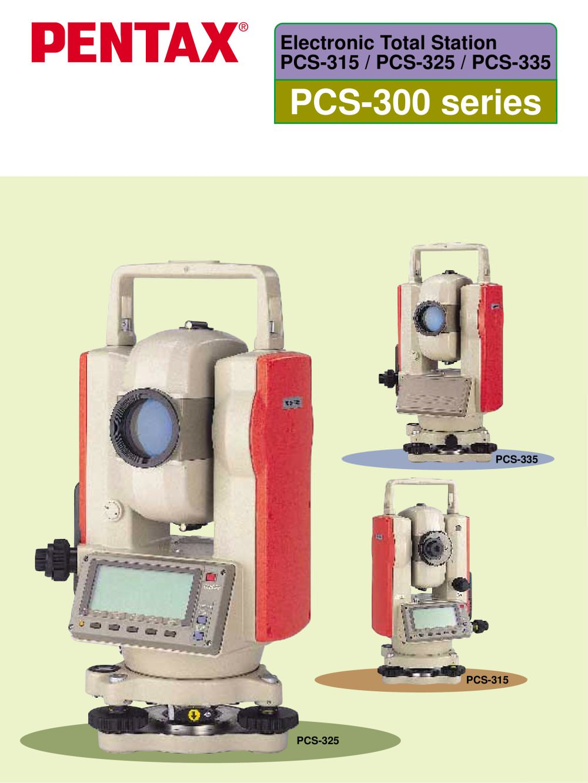 pcs 300series pentax precision pdf catalogue technical rh pdf directindustry com