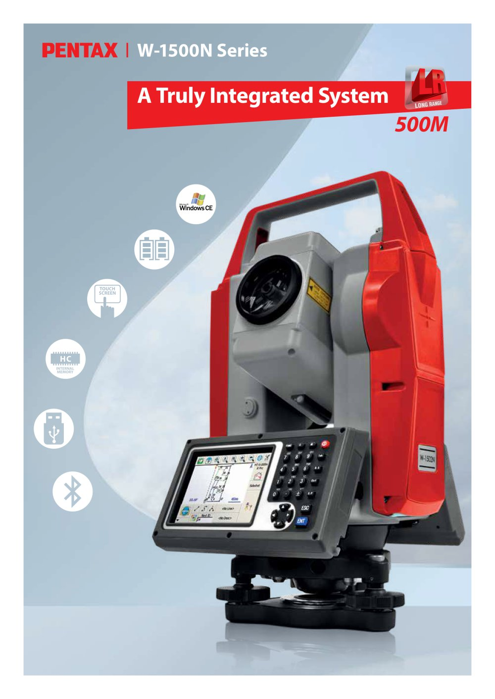 pentax w 1500 series pentax precision pdf catalogue technical rh pdf directindustry com