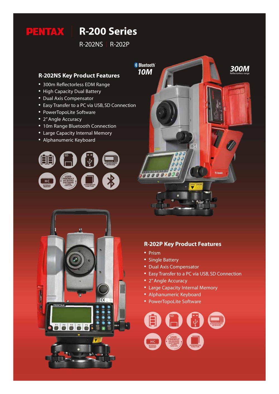r 200 series pentax precision pdf catalogue technical rh pdf directindustry com