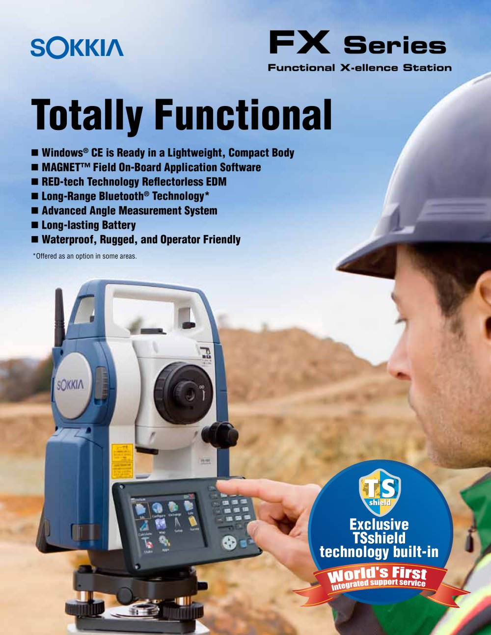 FX Series Reflectorless Total Station - 1 / 4 Pages