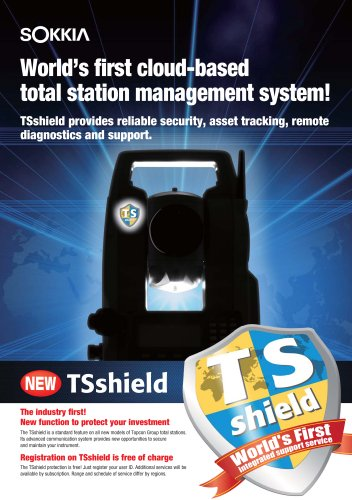TSshield - SOKKIA - PDF Catalogs | Technical Documentation | Brochure