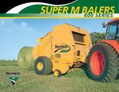 Round Balers - Super M Series  605 Super M Baler