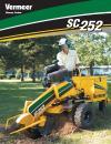 SC252 Stump Cutter Literature