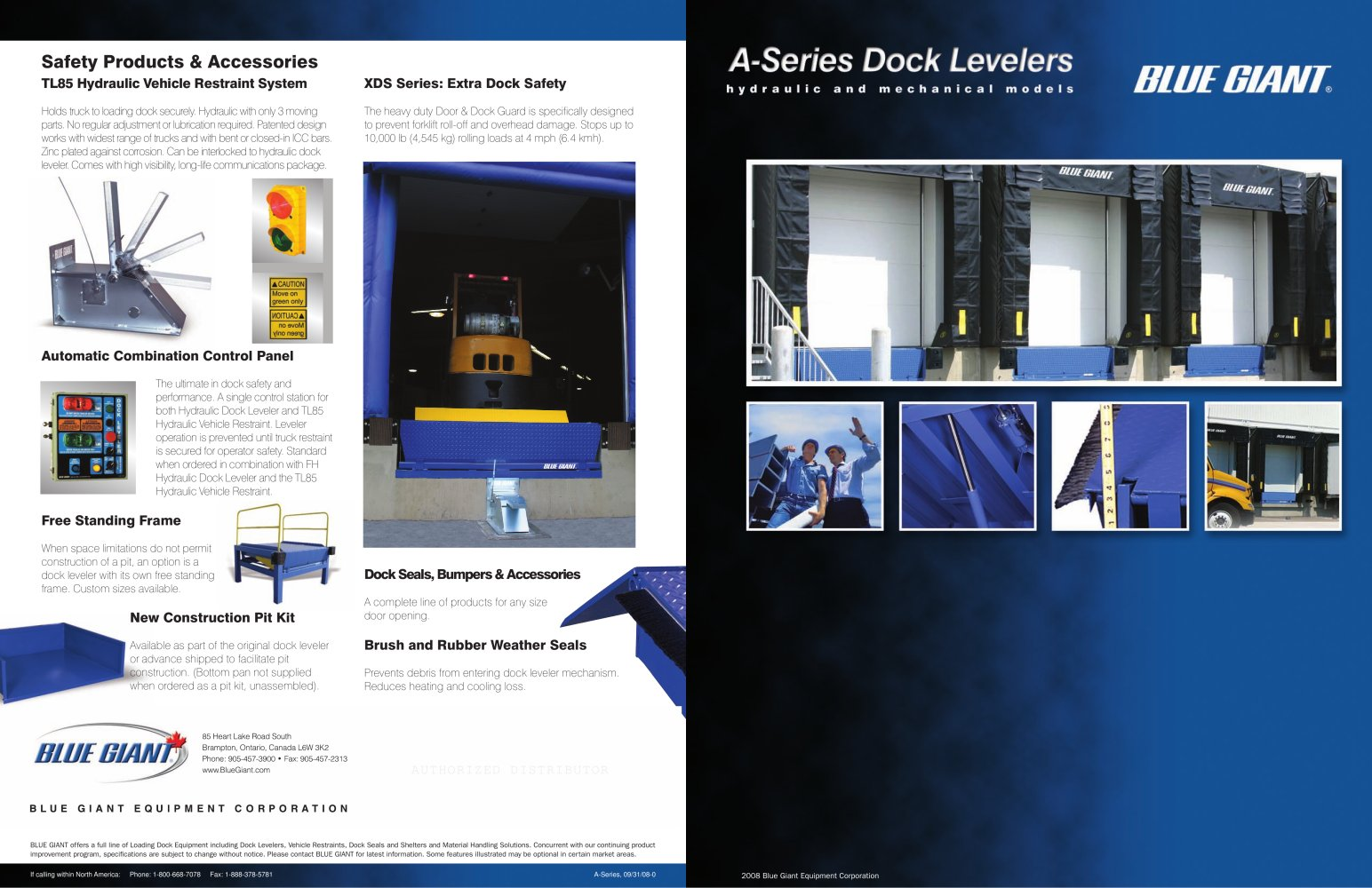 A series dock leveler blue giant pdf catalogue technical a series dock leveler 1 2 pages publicscrutiny Choice Image