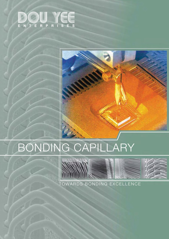 Bonding Capillary - DOU YEE - PDF Catalogue   Technical ...