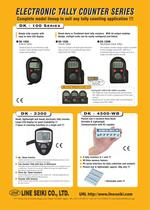 DK-100 series Catalog (Tally Counter)